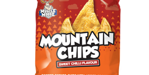 Healthy Snack, protein snack Mountain Chips Chilli Flavour
