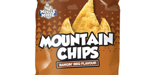 Protein Healthy Snacks Mountain Chips BBQ flavor