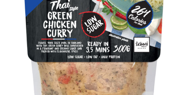 Green Chicken Curry - Protein Food