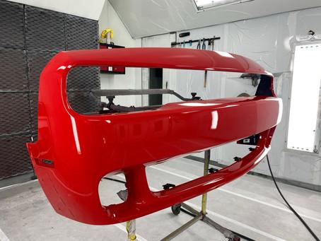 Bumper Repair and Repaint!