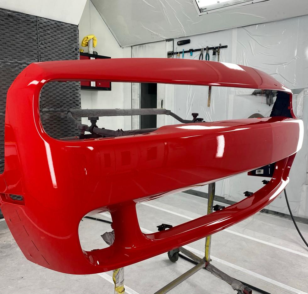 Repainted Bumper