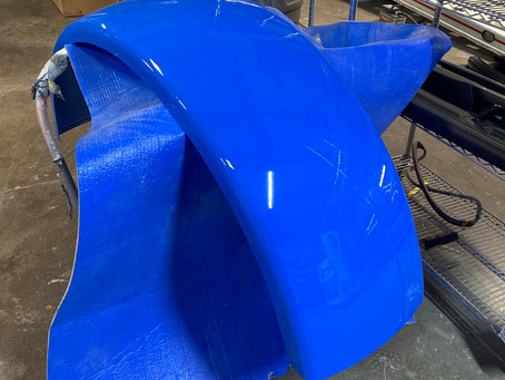 Fixing damaged fenders the right way!
