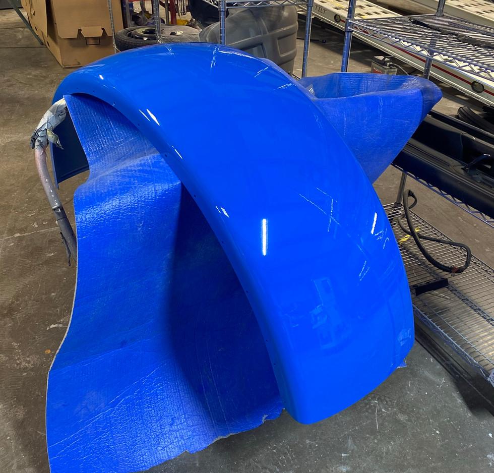 Blue Fender Repaint