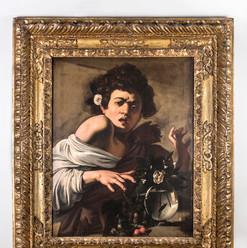 Caravaggio, Giovane morso da un ramarro