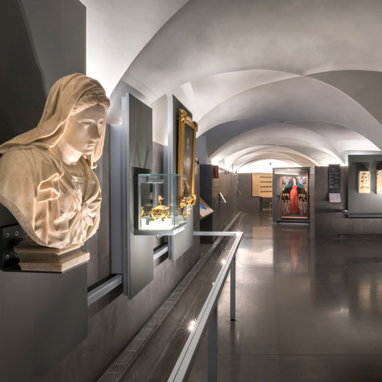 Vergine Sermei - Museo degli Innocenti