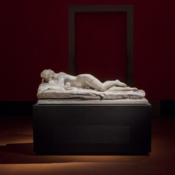 Ermafrodita | statua in marmo | Galleria degli Uffizi | Firenze
