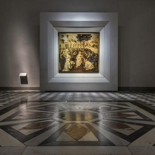 Galleria degli Uffizi | sala Leonardo da Vinci