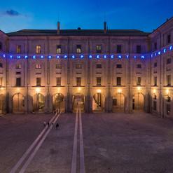 M. Nannucci | installazione al Museo monumentale della Pilotta | Parma