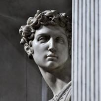 Michelangelo |  tomba di Giuliano, duca di Nemours | dettaglio