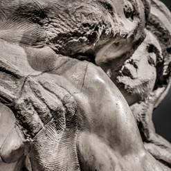 Michelangelo | Pietà Bandini | dettaglio