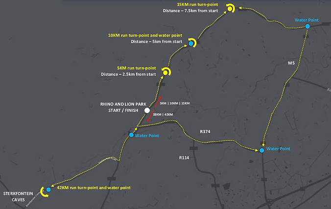Clock wise route with 42KM.png