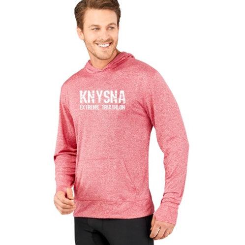 Mens Fitness Lightweight Hooded Sweater