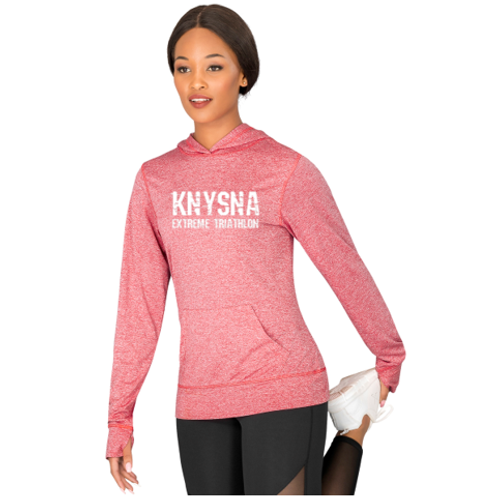 Ladies Fitness Lightweight Hooded Sweater