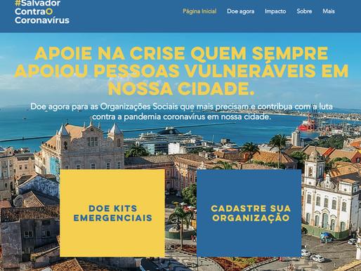 Prefeitura e Solidareasy lançam plataforma de doação de kits de emergência contra o COVID19 para