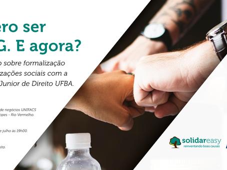 Workshop gratuito sobre como se tornar uma ONG em Salvador