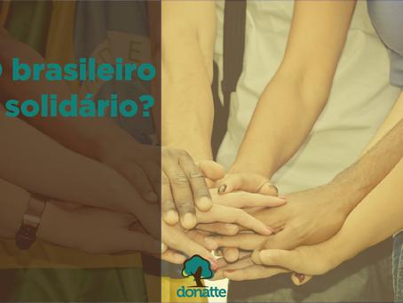 O brasileiro é solidário?