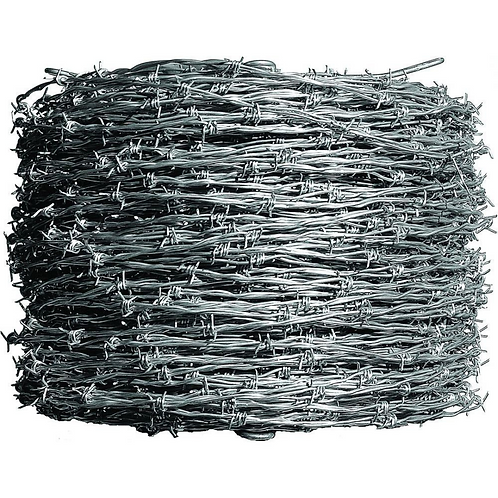 High-Tensile Barbed Wire 4pt 15.5ga 1,320'