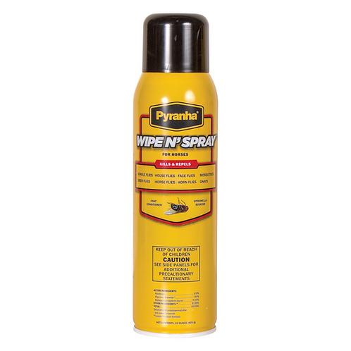 Pyranh Wipe N Spray Continuous Fly Spray