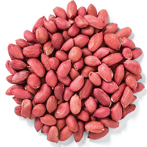 Raw Shelled Peanuts 50#
