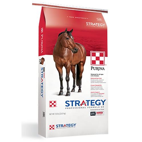 Purina Strategy Professional Formula GX Horse Feed 50#