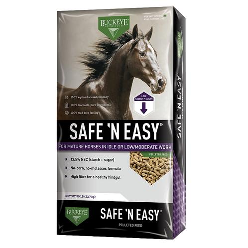 Buckeye SAFE 'N EASY Pelleted Feed 50#