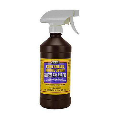 Controlled Iodine Wound Spray