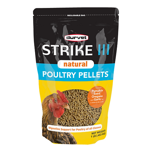 Strike III Natural Poultry Pellets 1lb