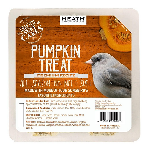PUMPKIN TREAT SUET CAKE 11.75OZ