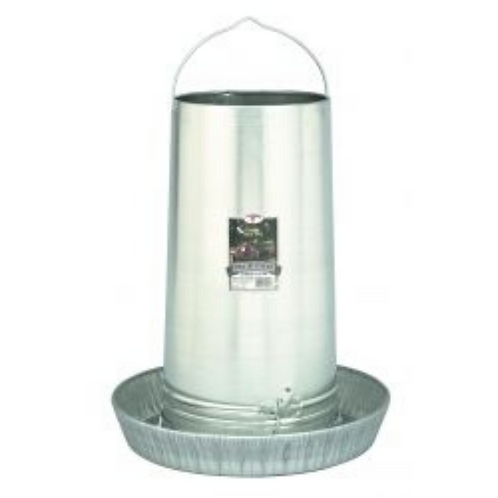 40-Pound Hanging Metal Poultry Feeder
