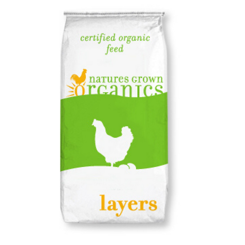 Organic Layer 18% No Soy Meal 50#