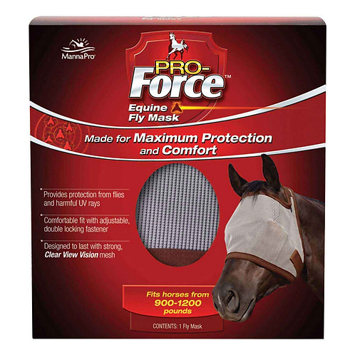 Pro-Force Fly Mask without Ears