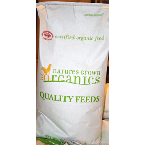 Organic 18% Rabbit Pellet Feed 50#