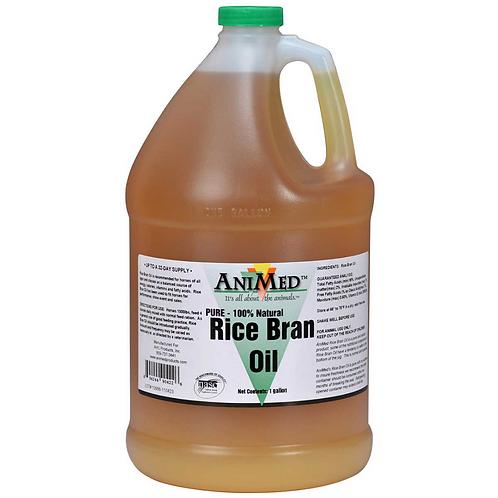 Rice Bran Oil for Animals