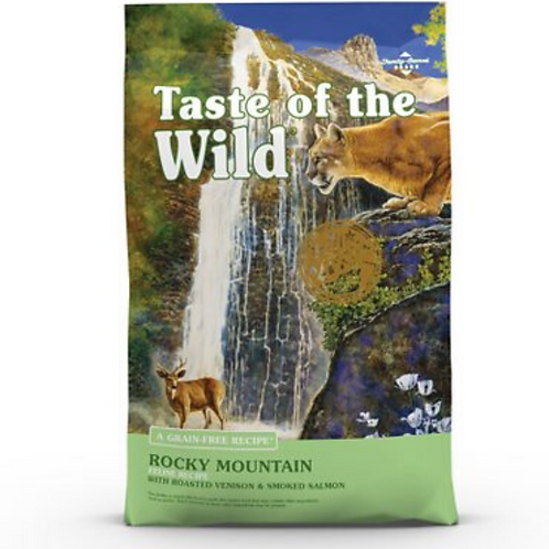 Taste of the Wild Rocky Mountain Grain-Free Dry Cat Food 14#