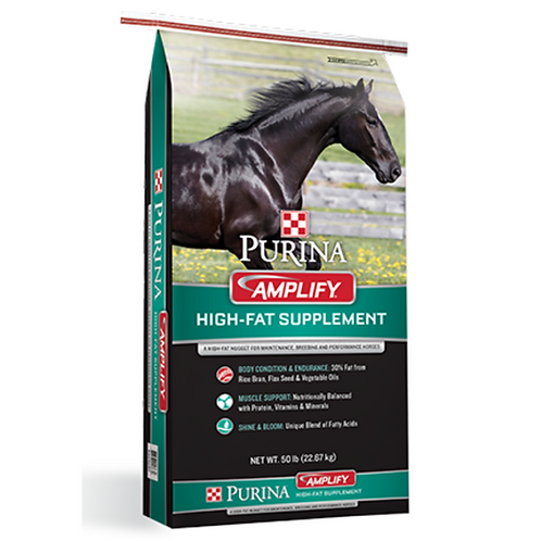 Purina Amplify High-Fat Horse Supplement