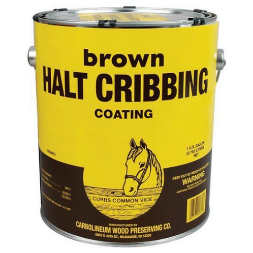 Halt Cribbing Coating - Brown