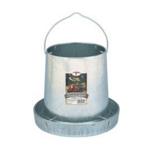 12-Pound Hanging Metal Poultry Feeder