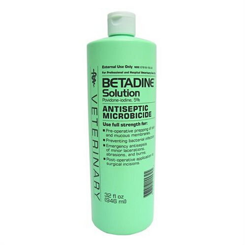 Betadine® Solution- Quart