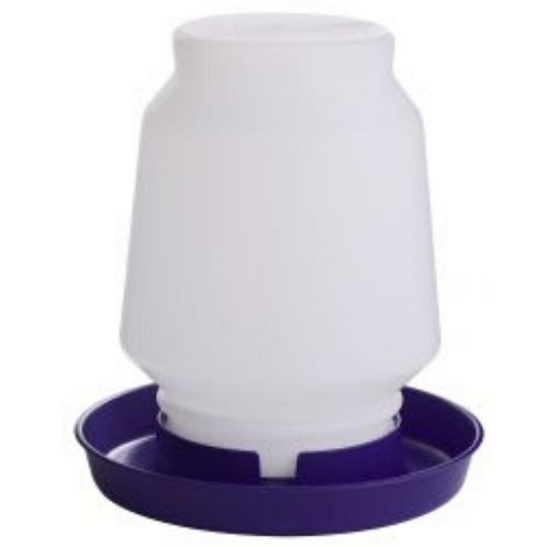 1 Gallon Plastic Screw-On Poultry Waterer