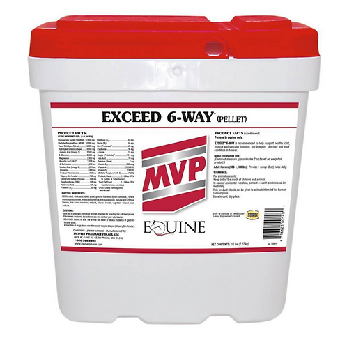 MVP Exceed 6-Way Pellets 8#