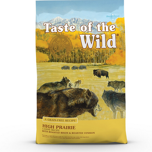 Taste of the Wild High Prairie Grain-Free Dry Dog Food 28#
