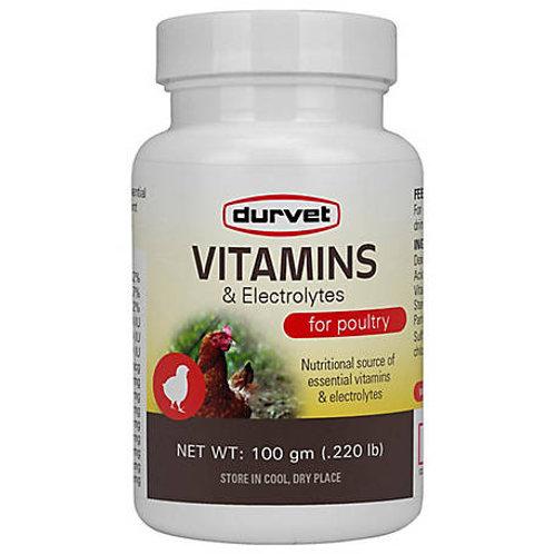 Durvet Vitamins & Electrolytes for Poultry