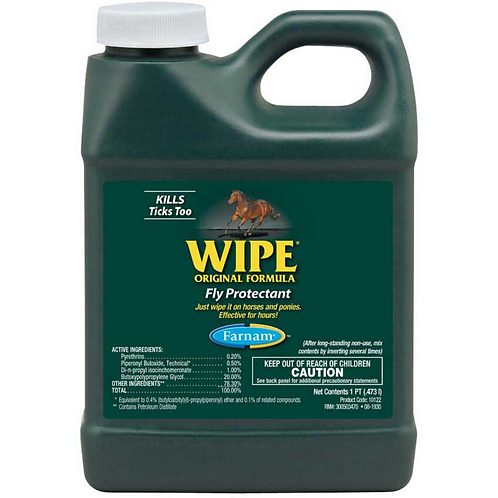 Wipe Fly Protectant Fly Spray QT