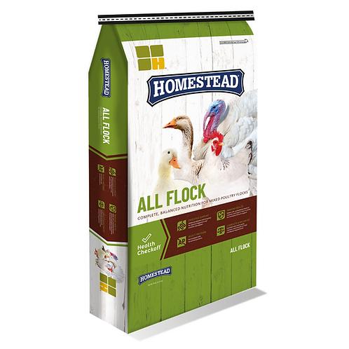 Homestead All Flock Pellets 50#