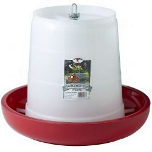 22 Pound Plastic Hanging Poultry Feeder