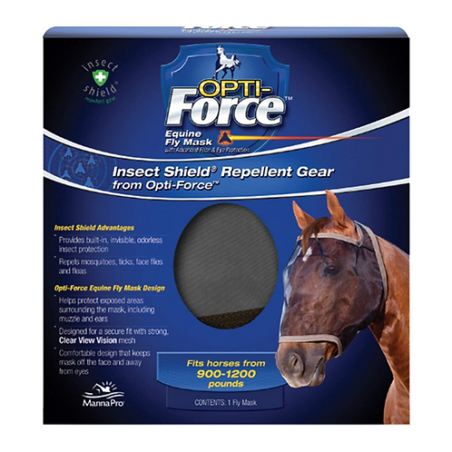 Insect Shield Opti-Force Equine Fly Mask
