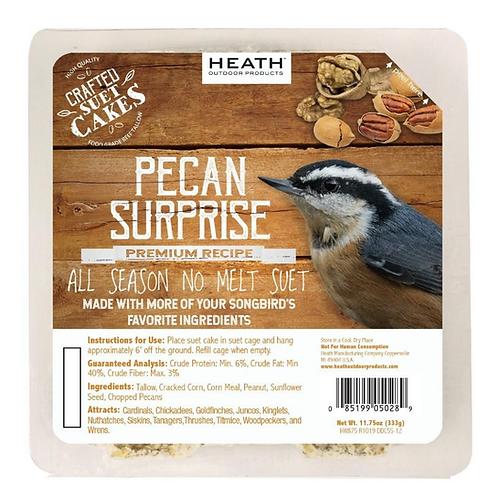 PECAN SURPRISE SUET CAKE 11.75OZ