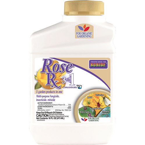 Rose Rx 3 in 1 Concentrate 16oz