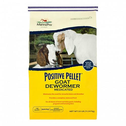 Positive Pellet Goat Dewormer 25#