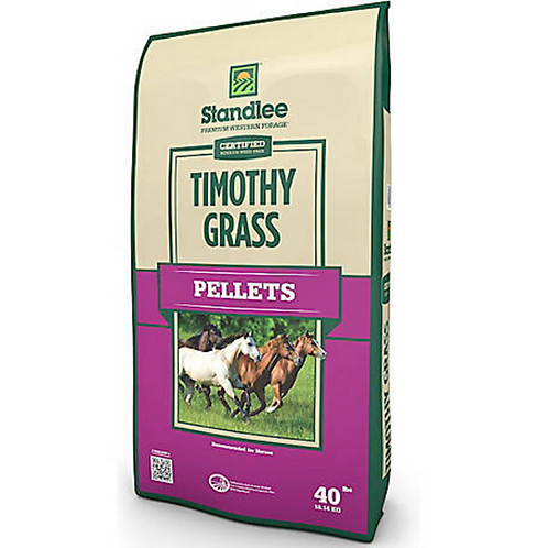 Standlee Certified TimothyPellets 40#